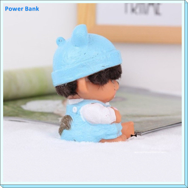 High quality Favorite lovely 2600mah power bank Monchhichi toy Portable power bank