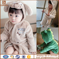 2017 Fctory Price Cute Designs Hooded Animal modeling Baby Bathrobe/Cartoon Baby Towel kids bath robe/infant bath towels