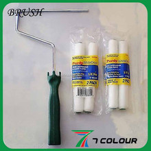 painting use paint roller brush factory,microfiber fabric roller brush