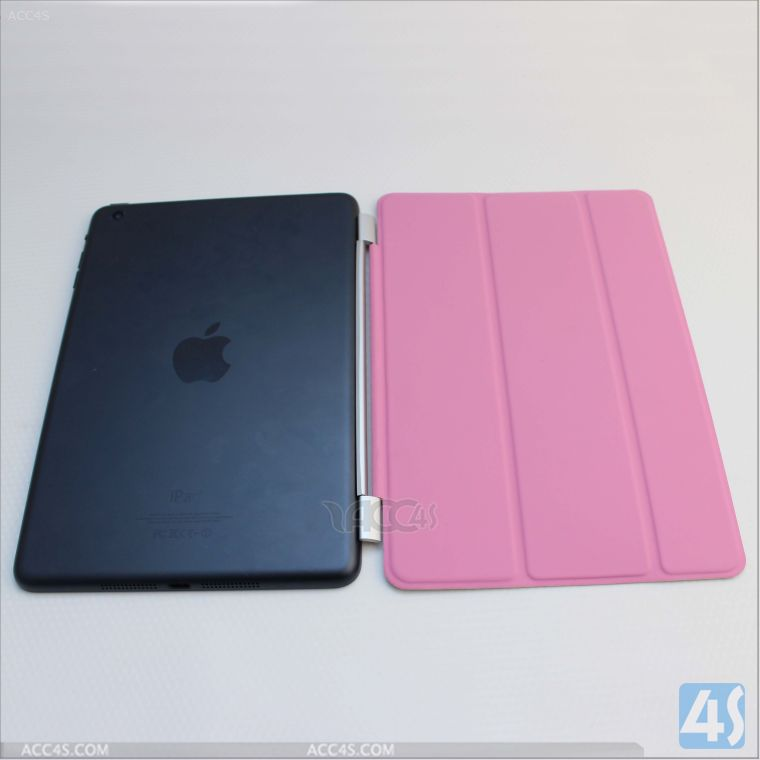 Premium Folio Case with Stand for Apple iPad Mini (Support Smart Cover Function) P-IPDMINIiiCASE014