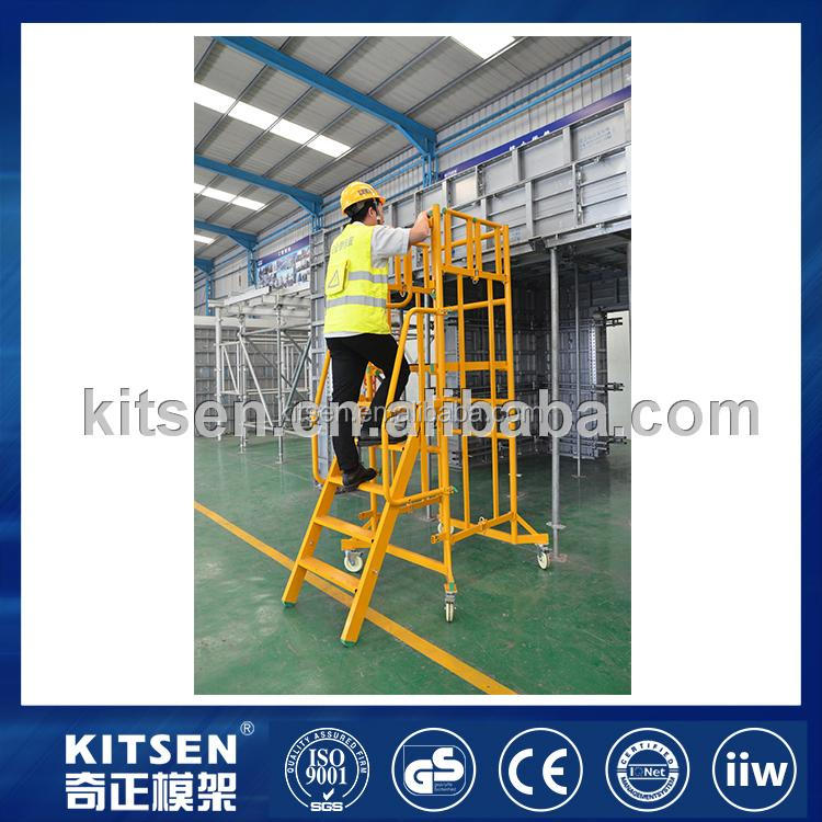 Great Safety 7- Steps / 3 - Working Heights Aluminum Podium Scaffold Tower