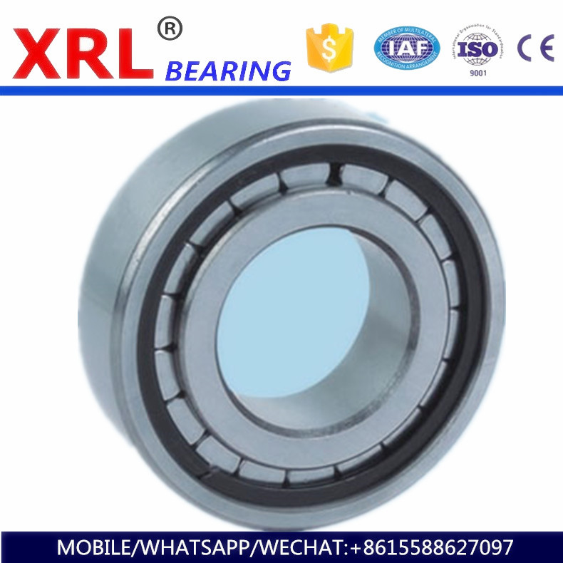 factory high-speed rotary solid ring cylindrical roller bearing NU204E