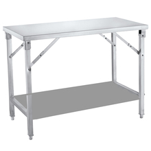 High Quality Utility Kitchen Stainless Steel Folding Work Tables For Kitchen Use