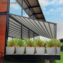 Aluminum Retractable Balcony Awnings with Remote Control