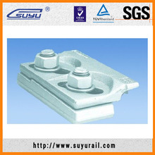 Suyu Tension Clamp Rail Fastening System For Railroad, W12 Rail Fasteners
