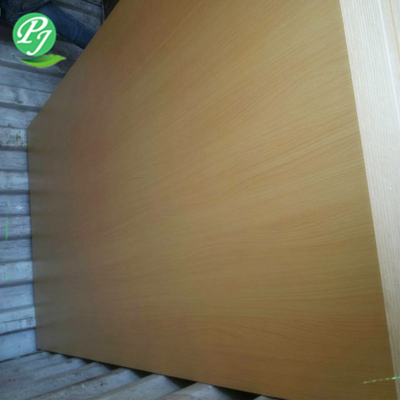 pinjia sustainable white laminated melamine mdf board
