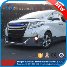 High Quality New Modellista Design 2015 Alphard Body Kit for Toyota Alphard 2012-2013