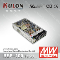 MEAN WELL POWER SUPPLY RSP-100 PFC 5V 12V 24V 48V 100W switching power supply