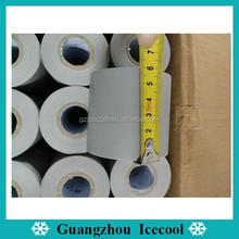 cheap Non adhesive PVC grey Checkered 6cm*15m Air Conditioner duct Tape