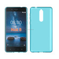 clear Transparent tpu soft cell phone case for Nokia 8 tpu cover