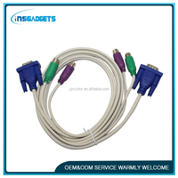Factory price of Good quality KVM Cable for KVM switch with OEM service H
