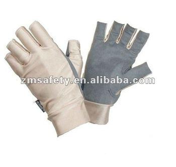Outdoor sports sun protective glove fishing glove zmr382 for Fishing sun gloves