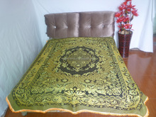 chinese factory make that heavy cotton jacquard blanket