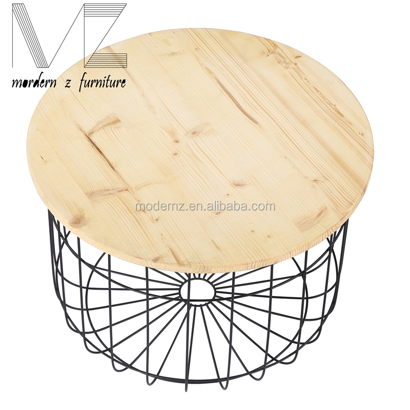 french country Cheap LTR black side table with plywood top