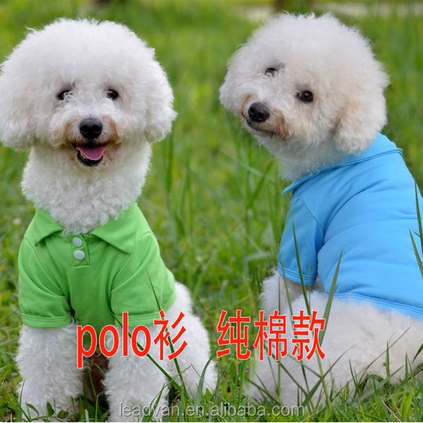 Cheap sale funny plain pet dog clothes,solid color pet clothes for dog