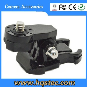 GP135 New Bridge Adapter, convert GoPros Mounts for Common Camera with 1/4inch connector using