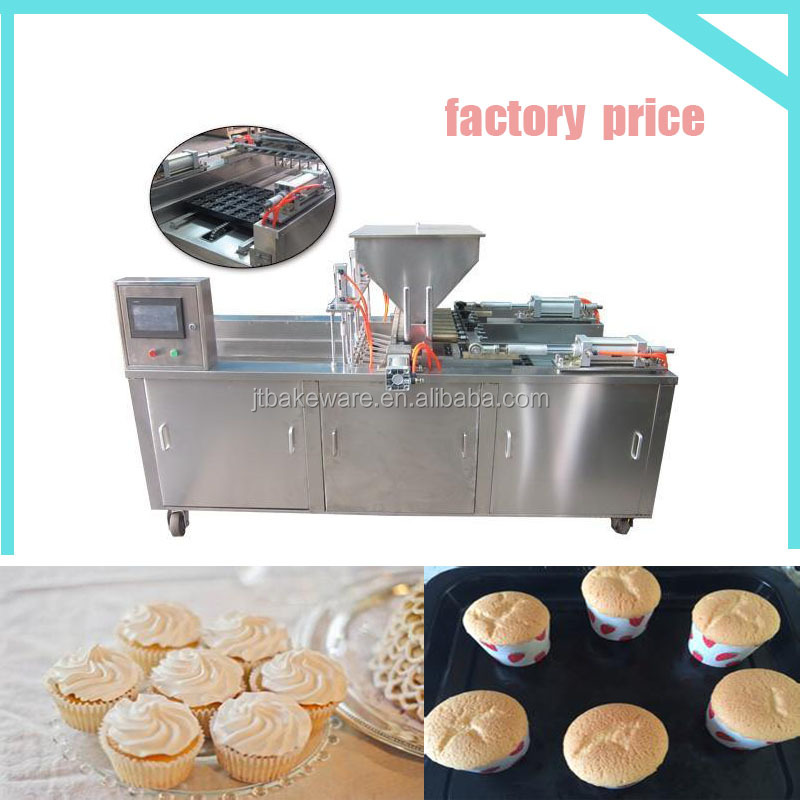 Professional industrial high quality full automatic paper cup cake machine