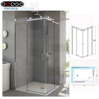 High Quality Sliding Glass Frameless Shower Doors, Shower Enclosure