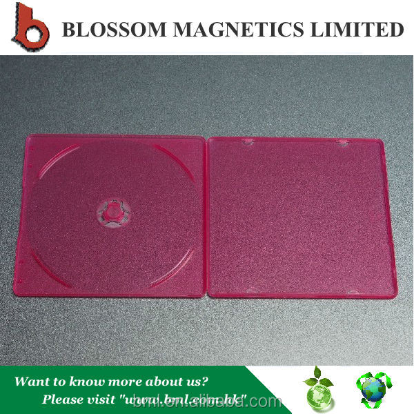 Hot Sale Fancy 5.2mm Colored Plastic Slim Single CD Cover
