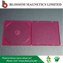 Hot Sale Fancy 5mm Colored Plastic Slim Single CD Cover
