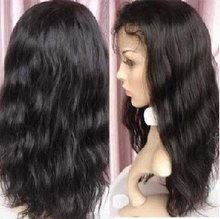 HUMAN HAIR - Full lace wigs 100% - Synthetic lace wigs