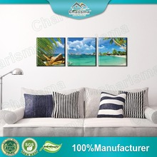 Customized oil paintings 3 panel canvas wall art printed painting sets