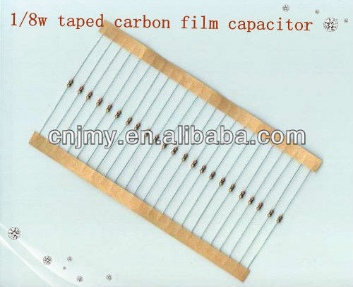 Carbon Film Resistor with 1/8W to 5W Power