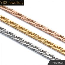 Jewelry Wholesale cuban link gold artificial gold long chain imitation necklace gold chain in dubai