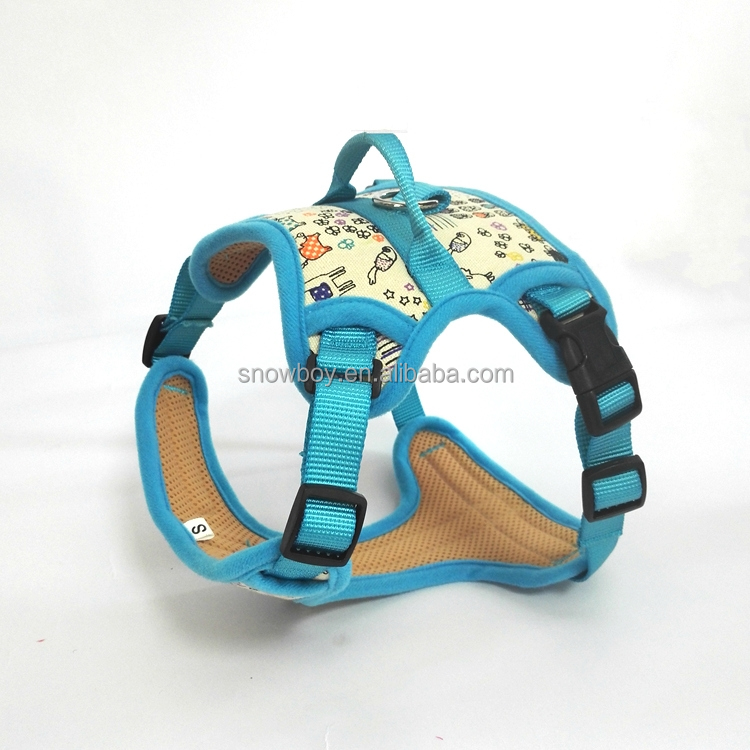 Multicolor Padde Pet Dog Harness Soft Mesh Pet Vest Outdoor Adventure Dogs Body Harness Pet Vest Extra Big Large Dogs