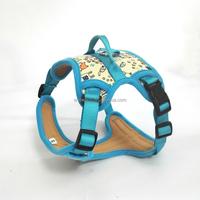Multicolor Padde Pet Dog Harness Soft Mesh Pet Vest Outdoor Adventure Dogs Body Harness Pet Vest Extra Big Large Dogs