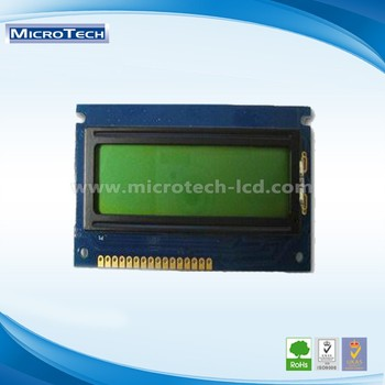 COB Type LCD Yellow-Green Character lcd display