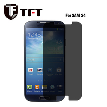 Factory Stock! 9H High Quality Anti Spy Privacy Tempered Glass Screen Protector For Samsung Galaxy S4