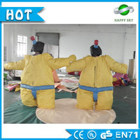 2016 High quality! inflatable sumo costume, inflatable fighting sumo, sumo sets