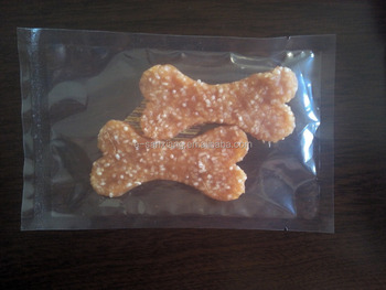 chicken with rice pressed bone shape pet snacks