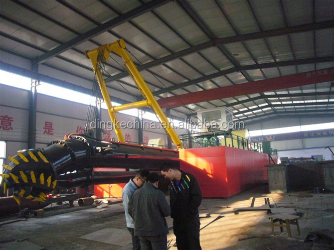 china DINGKE Professional 18 inch dredger vessels