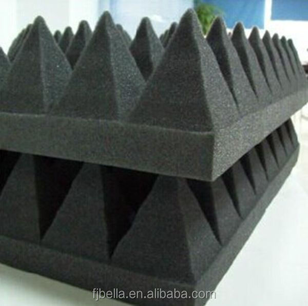 100mm Sound-Absorbed Pyramid Panel,Music Room Acoustic Foam Panel
