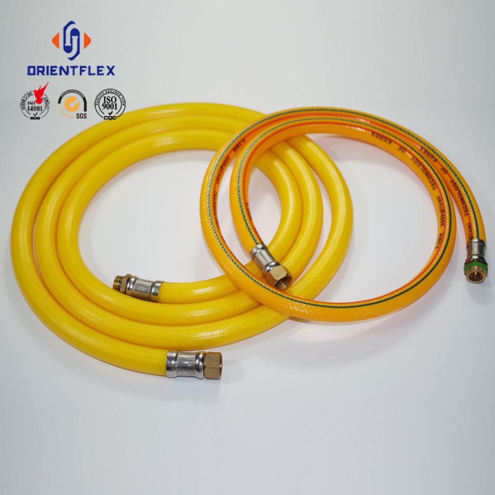 5-layer 10mm PVC high pressure flexible spray air hose
