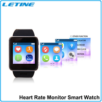 New Arrival! Latest wrist heart rate smart watch mobile phone for iphone bluetooth watch
