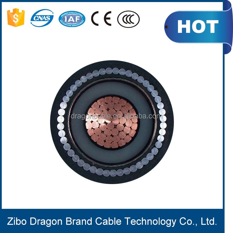 Medium and low voltage electric wire cable, XLPE 11kV power cable price underground armoured power cables