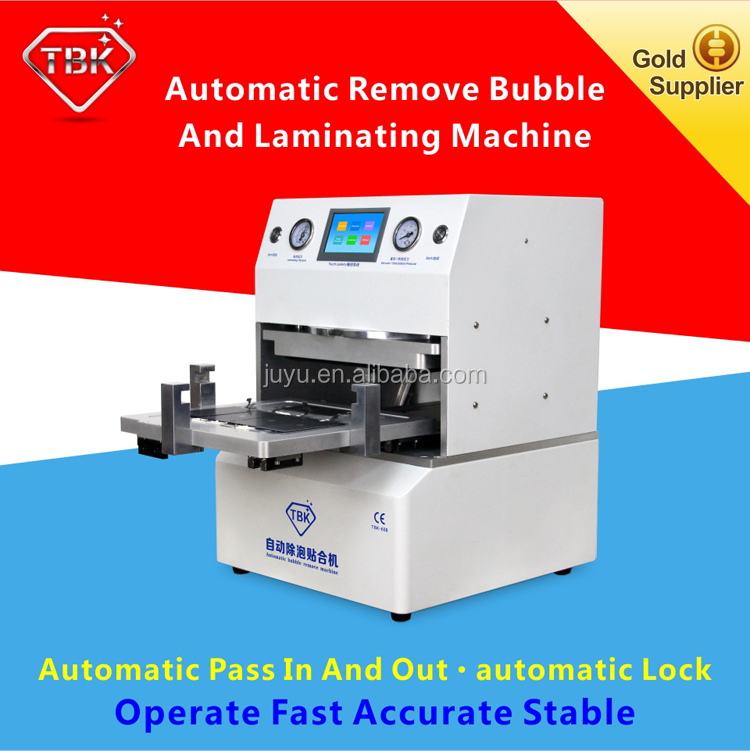 OCA Vacuum Laminating Machine + Autoclave Bubble Remover for LCD Touch Screen Digitizer Displays Separator Repair Too For S7edge