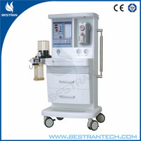 China BT-2000S Hospital medical 7 inch LCD anesthesia machine with ventilator price