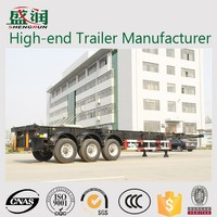 High-end Trailer Manufacturer Shengrun Truck And Trailer 40 ft Skeleton Trailer