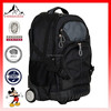 Big fashion rolling backpack smoky black wheeled backpack new eminent trolley backpack bag(ES-H176)