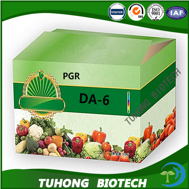 Good quality plant growth hormone increasing yielding DA-6 98%tc foliar fertilizer