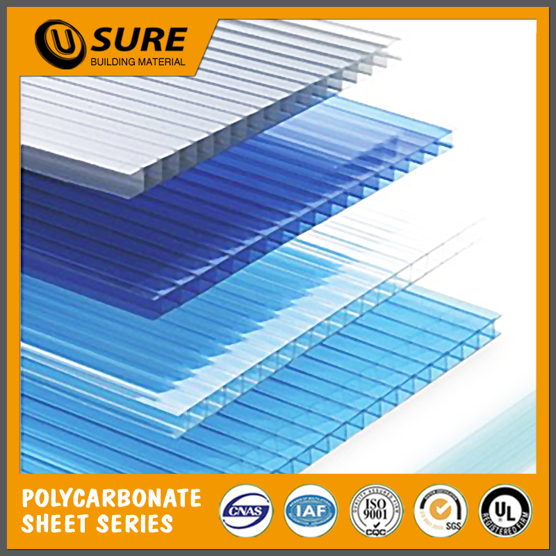 High Quality PC Honeycomb Color Plastic Sheet Roofing Covering