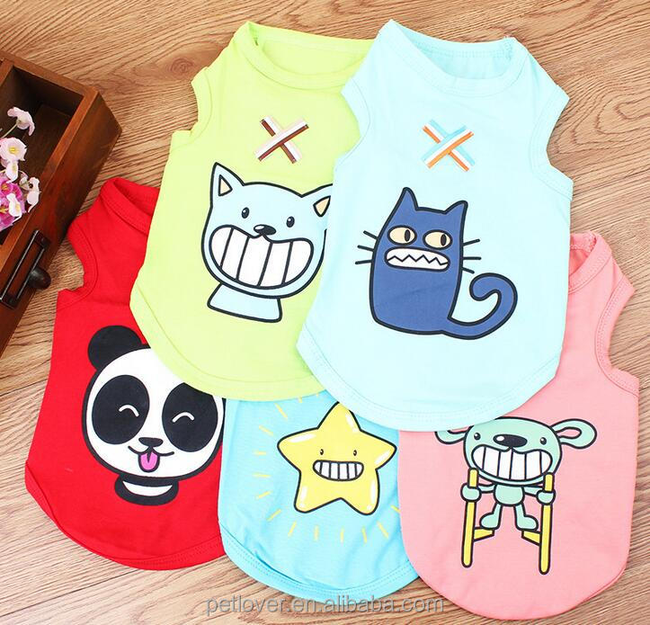 2016 New Vest for Small Dog Cat Pet Costume Lovely Clothes