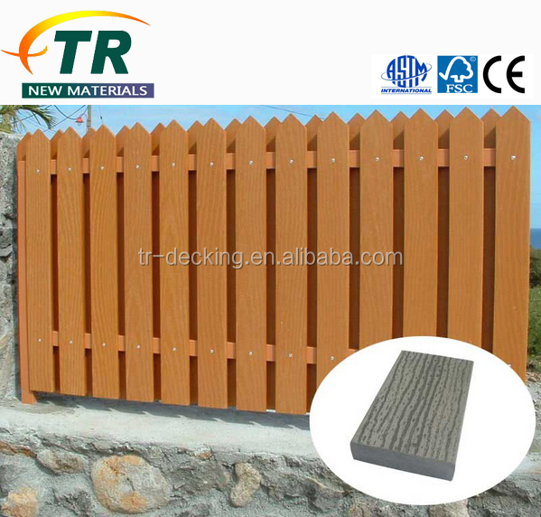 Wholesale top quality wpc fence