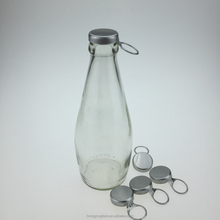 290ml Basil Seed Beverage Glass Bottle With Aluminum Cap