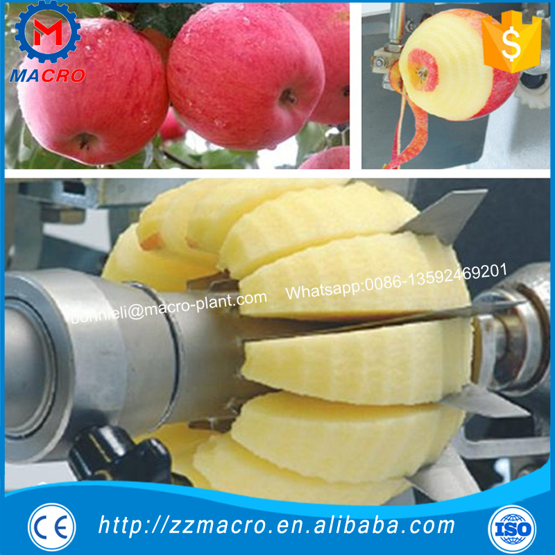 New desing electric apple peeler/commercial apple peeler corer slicer