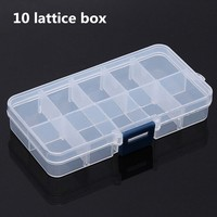 PP 10 cases plastic box for container different color